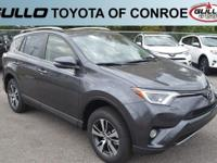 Gray 2018 Toyota RAV4 XLE 29/23 Highway/City MPG  Let