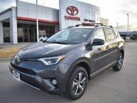 Gray 2018 Toyota RAV4 XLE FWD 6-Speed Automatic 2.5L