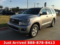 2018 Toyota Sequoia in Silver Sky Metallic exterior and