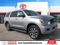 Silver Sky Metallic 2018 Toyota Sequoia Limited RWD