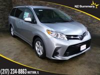 Silver 2018 Toyota Sienna LE 8 Passenger FWD 8-Speed