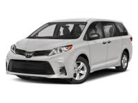 CARFAX One-Owner. Predawn Gray Mica 2018 Toyota Sienna
