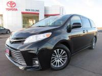 This 2018 Toyota Sienna comes equipped with push button