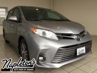 2018 Toyota Sienna in Silver, AUX CONNECTION, USB,