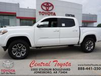 4WD. 2018 Toyota Tacoma Limited 4D Double Cab 4WD
