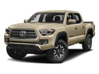 New Price! Super White 2018 Toyota Tacoma TRD Offroad
