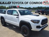 White 2018 Toyota Tacoma TRD Pro  Let the team at Gullo