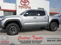 4WD. Silver Sky Metallic 2018 Toyota Tacoma TRD Offroad