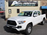 Wh 2018 Toyota Tacoma SR5 V6 4WD 6-Speed Automatic V6