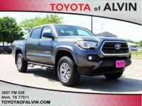 $1,852 off MSRP! Recent Arrival! 2018 Toyota Tacoma