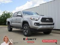 Recent Arrival! 2018 Toyota Tacoma TRD Sport V6 Silver