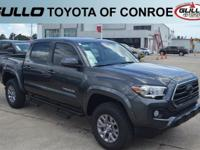 Gray 2018 Toyota Tacoma SR5  Let the team at Gullo