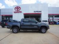 Gray 2018 Toyota Tacoma SR5 V6 RWD 6-Speed Automatic V6