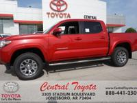 Barcelona Red 2018 Toyota Tacoma SR5 4D Double Cab RWD
