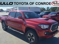 Red 2018 Toyota Tacoma TRD Sport  Let the team at Gullo