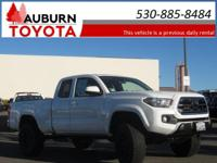 LOW MILEAGE, 3 LIFT KIT, BLUETOOTH! This 2018 Toyota
