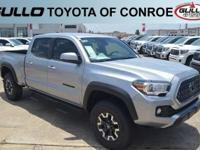 Silver 2018 Toyota Tacoma TRD Offroad  Let the team at