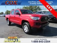 New Price! This 2018 Toyota Tacoma SR in Inferno is