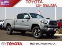 2018 Toyota Tacoma 4D Double Cab Cement RWD V6 TRD