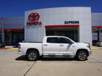White 2018 Toyota Tundra 1794 CrewMax 4WD 6-Speed