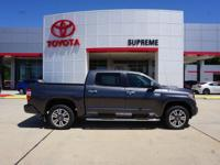 Gray 2018 Toyota Tundra Platinum 5.7L V8 4WD 6-Speed