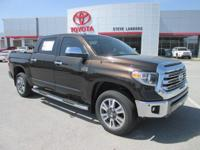 Recent Arrival! 2018 Toyota Tundra 1794 i-Force 5.7L V8