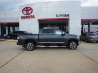 Gray 2018 Toyota Tundra 1794 CrewMax 4WD 6-Speed