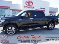 4WD, Brown/Bl. Midnight Black 2018 Toyota Tundra 1794
