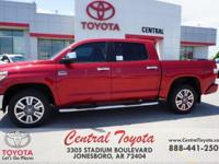 4WD, Brown/Bl. Barcelona Red 2018 Toyota Tundra 1794 4D
