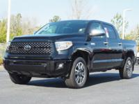 Midnight Black 2018 Toyota Tundra Platinum CREWMAX 5.7L