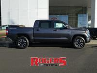 This Toyota Tundra has a V8, 5.7L high output engine.