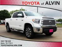 Leather. Recent Arrival! 2018 Toyota Tundra White