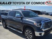 Gray 2018 Toyota Tundra Limited  Let the team at Gullo