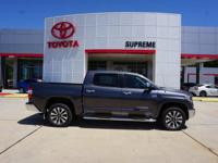 Gray 2018 Toyota Tundra Limited CrewMax 4WD 6-Speed