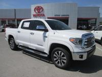 Recent Arrival! New Price! 2018 Toyota Tundra Limited