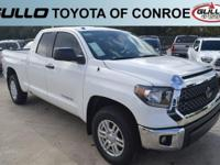 White 2018 Toyota Tundra SR5  Let the team at Gullo