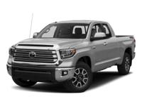 This Toyota Tundra boasts a 4.6 Liter engine powering