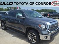 Gray 2018 Toyota Tundra SR5  Let the team at Gullo