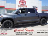 Graphite. Magnetic Gray Metallic 2018 Toyota Tundra SR5