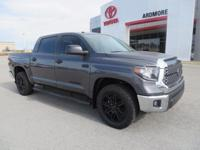 2018 Toyota Tundra SR5 4D CrewMax Gray Graphite Cloth.