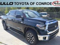 Black 2018 Toyota Tundra SR5  Let the team at Gullo