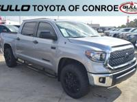 Silver 2018 Toyota Tundra SR5  Let the team at Gullo