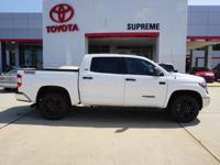 4WD and Cloth. The Supreme Toyota EDGE! The truck