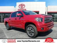 New Price! Barcelona Red 2018 Toyota Tundra SR5 CrewMax