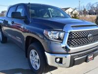 Gray 2018 Toyota Tundra SR5 4WD 6-Speed Automatic