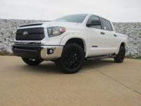 Super White 2018 Toyota Tundra SR5 4.6L V8 RWD 6-Speed