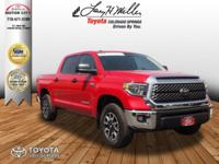 This outstanding example of a 2018 Toyota Tundra 4WD