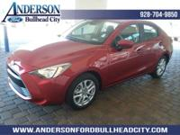 Red 2018 Toyota Yaris iA FWD 6-Speed Automatic 1.5L