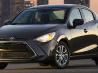 EPA 40 MPG Hwy/32 MPG City! Yaris iA trim. Back-Up