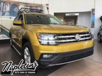 2018 Volkswagen Atlas in Yellow, Bluetooth, USB, Aux